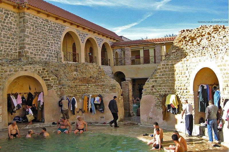 Roman Bath of Hammam Essalhine, Algeria