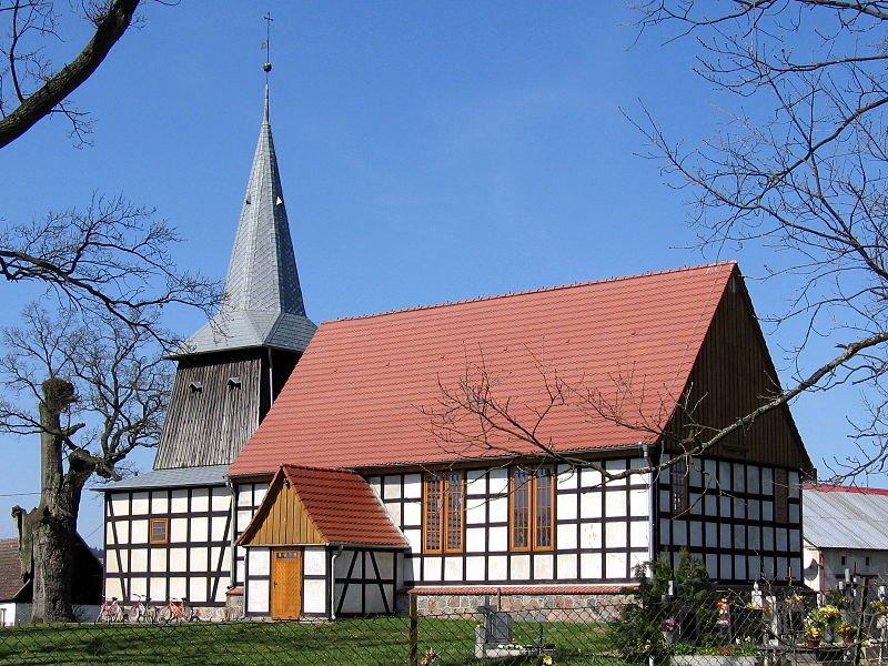 Roman Catholic Church in Świeszewo, Poland