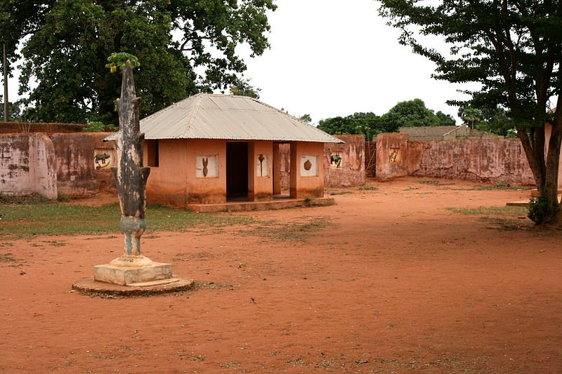 Royal Palaces of Abomey, Benin, in 2008