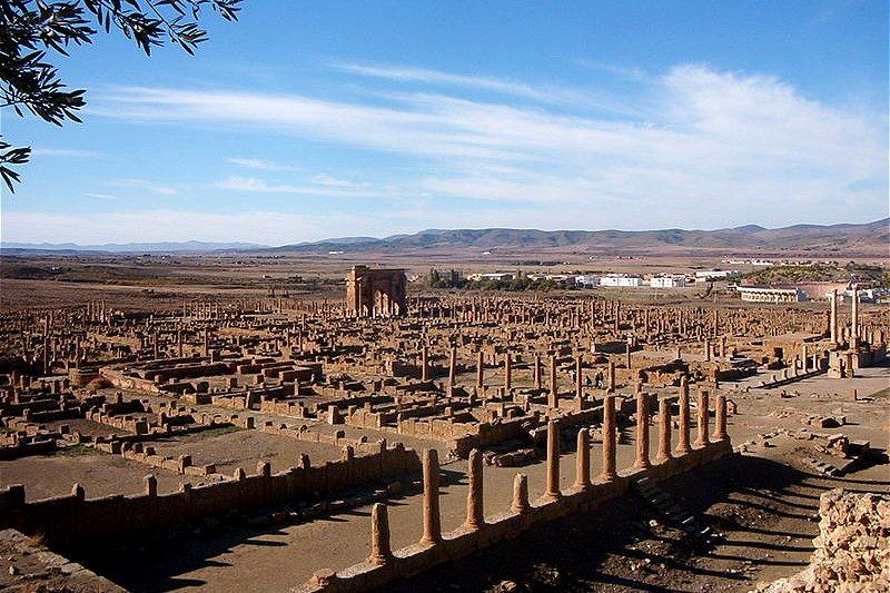 Ruins of Timgad, Algeria
