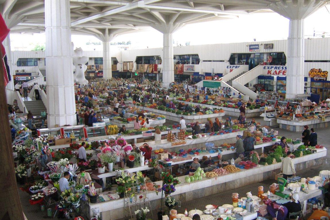 Russian Bazaar, Ashgabat