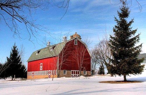 5-Mile Barn, Kenosha, Wisconsin