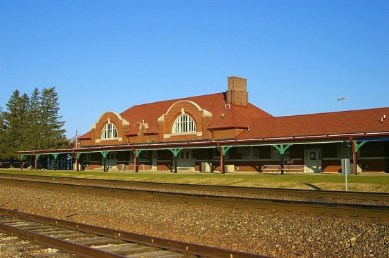Ames Train Station
