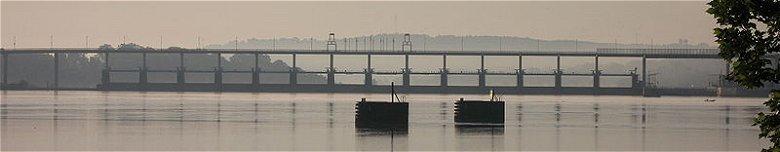 Big Dam Bridge across the Arkansas River at Little Rock