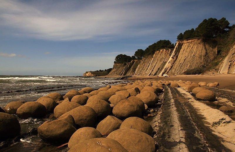 Bowling Balls Beach, Mendocino county, California