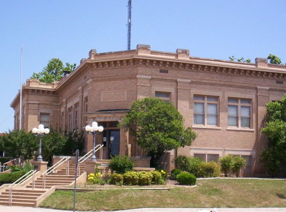 Carnegie Library in Lawton, Oklahoma