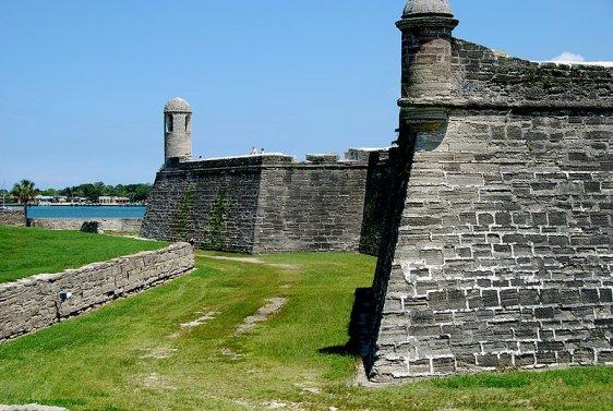 Castillo de San Marcos north wall