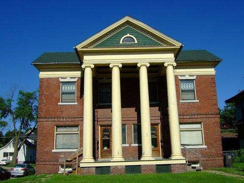 CH Baker Double House, Des Moines