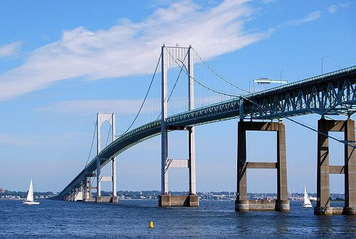 Claiborne Pell Newport Bridge, Rhode Island