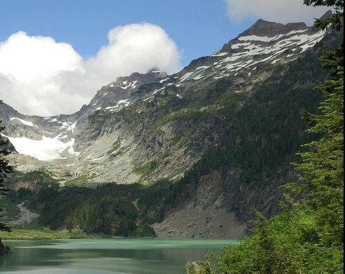 Columbia Glacier, Monte Cristo Peak, Washington State