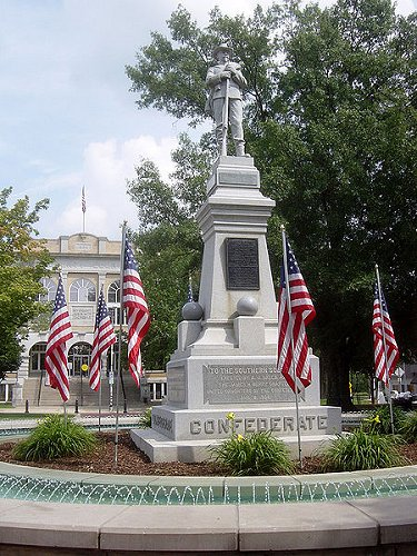 Confederate Monument honoring James H. Berry and the Southern Soldier