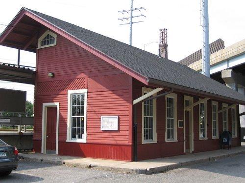 Cos Cob Railroad Station, Greenwich, Connecticut