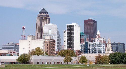 Des Moines, capital and biggest city in Iowa