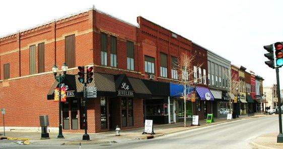 Downtown Cedar Falls, Iowa