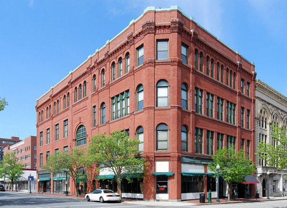 Duff Building, downtown New Bedford