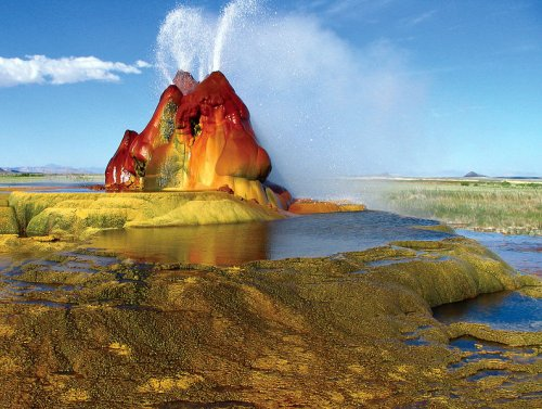 Fly Geyser, Gerlach, Nevada