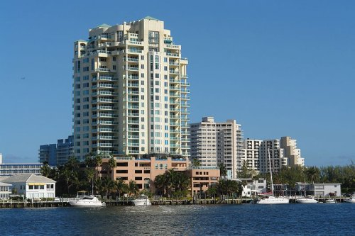 Waterfront at Fort Lauderdale Harbor