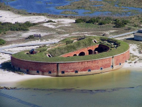 Fort Massachusetts, West Ship Island, Mississippi