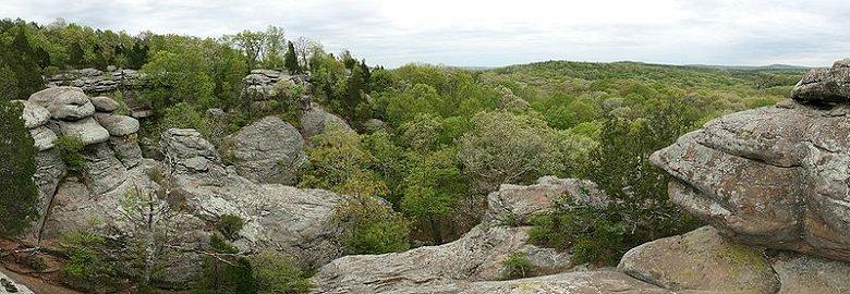Garden of the Gods, Shawnee National Forest, Illinois