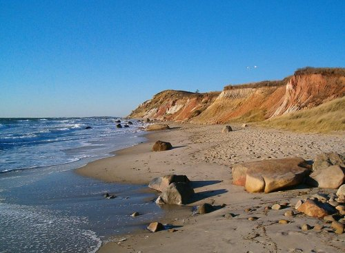 Gay Head Cliffs, Martha's Vineyard, Massachusetts