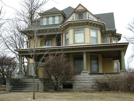 Henry Weis House (listed in National Register of Historic Places), Waterloo
