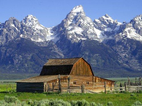 John Moulton Barn, Grand Teton National Park, Wyoming