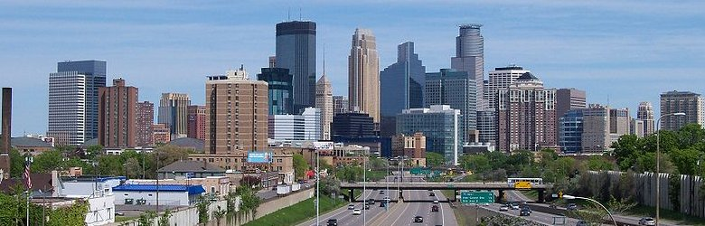 Minneapolis skyline during the day