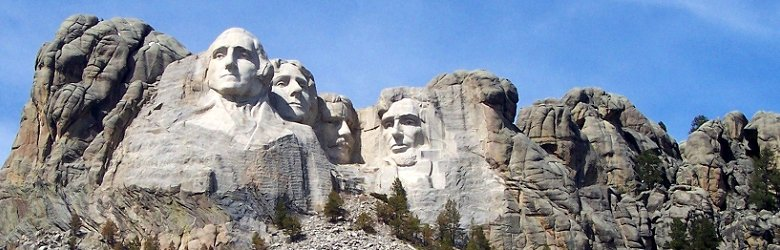 Mount Rushmore, one of the National Memorials of the United States
