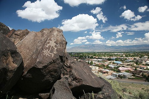 Petroglyph at Petroglyph National Monument, Albuquerque