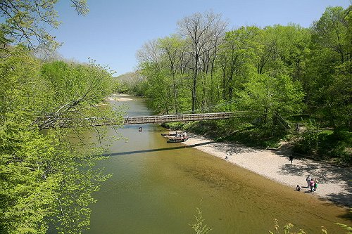 Sugar Creek, Turkey Run State Park, Indiana