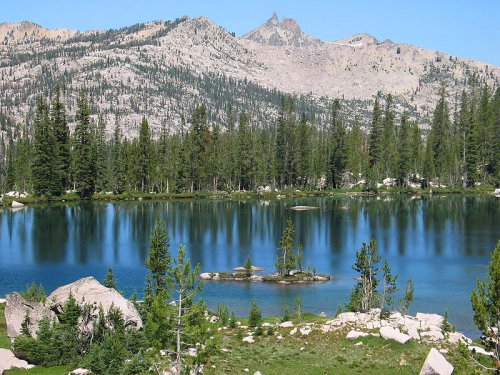 Summit Lake, Sawtooth Wilderness, Idaho