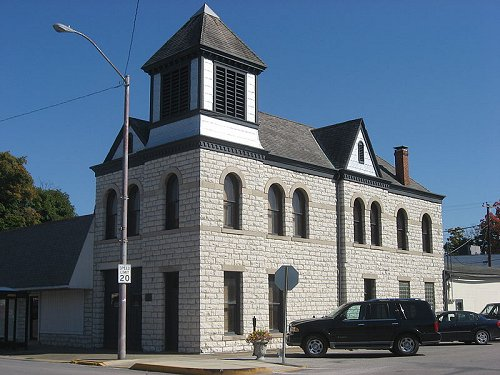 Town Hall of Spencer, Indiana