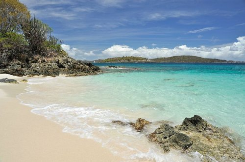 Turtle Bay Beach on U.S. Virgin Islands