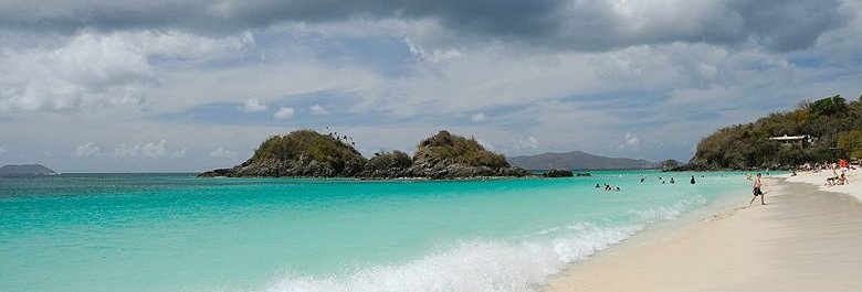 U.S. Virgin Islands, Trunk Bay, St John Island