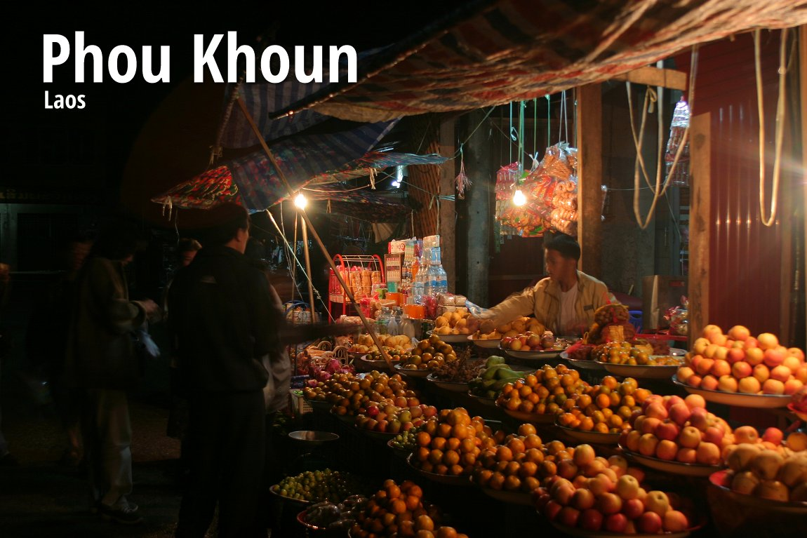 Phou Khoun, Laos
