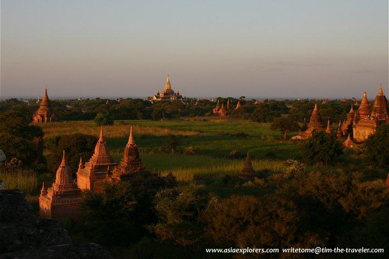 Bagan Plains at dusk