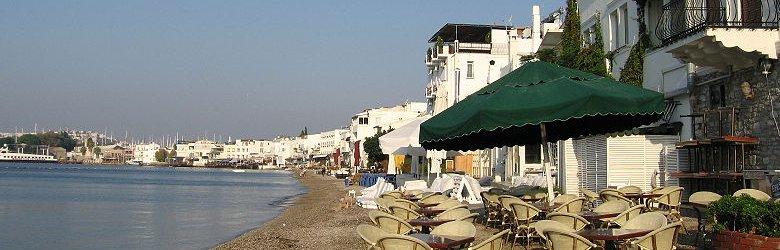 Seaside in Bodrum, Turkey
