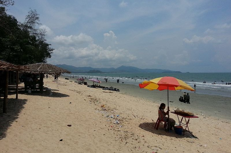 Image result for Maungmagan Beach