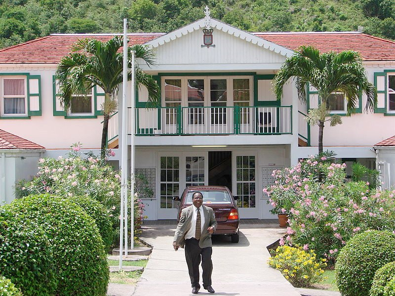 Saba Government House