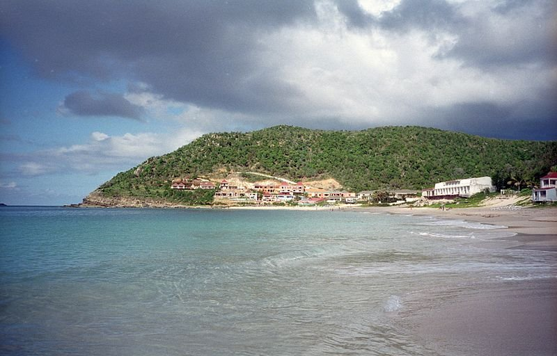 Beach at Saint-Barthélemy