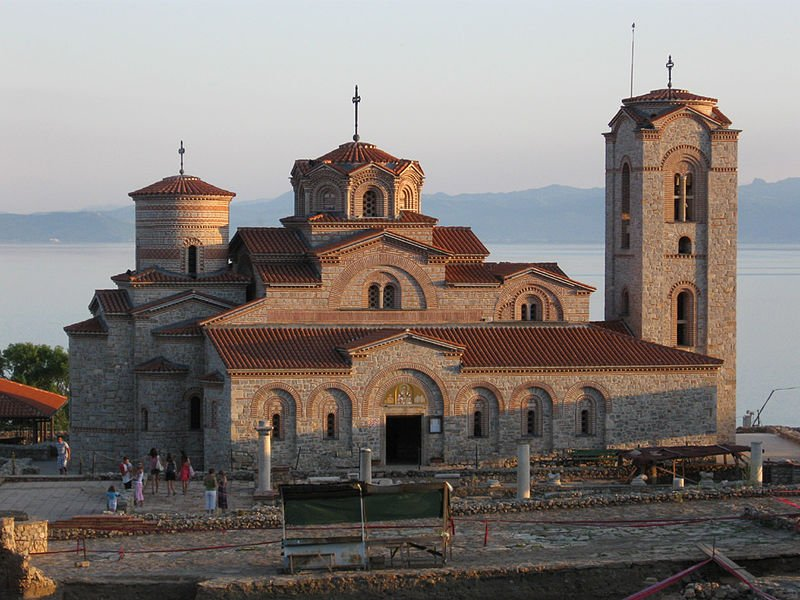 Saint Panteleimon Church in Ohrid, Macedonia