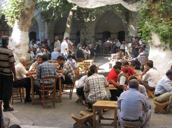 Şanlıurfa bazaar area, Turkey