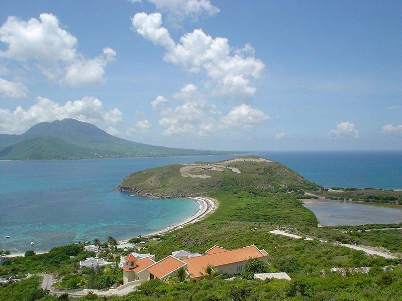 Scenic view of Saint Kitts