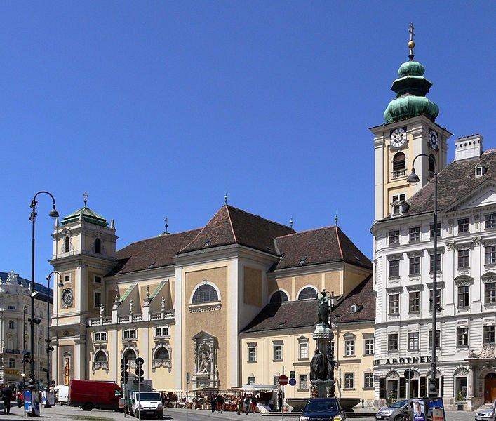 Schottenkirche, Freyung, Vienna