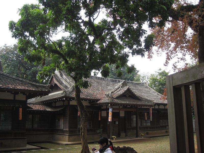 Shrine in Chiayi, Taiwan