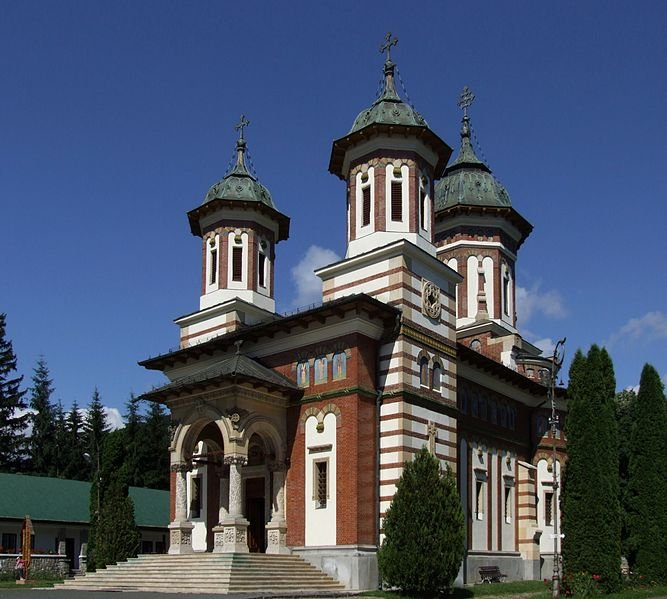 Great Church in Sinaia Monastery, Romania
