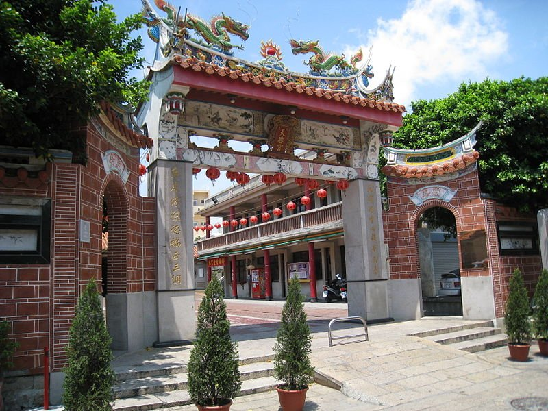 Sin Cho Kiong Temple in Lokkang, Taiwan