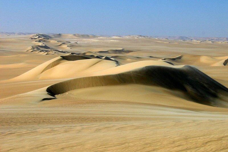 Siwa Sand Dunes, Egypt