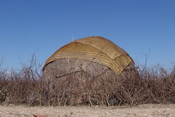 Aqal, a traditional Somali nomad's hut