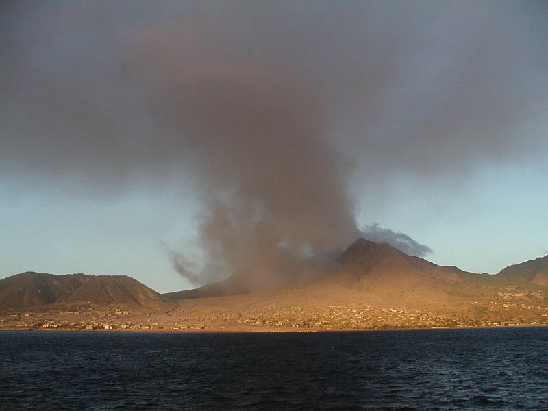 The Soufrière Hills volcanic eruption in Montserrat